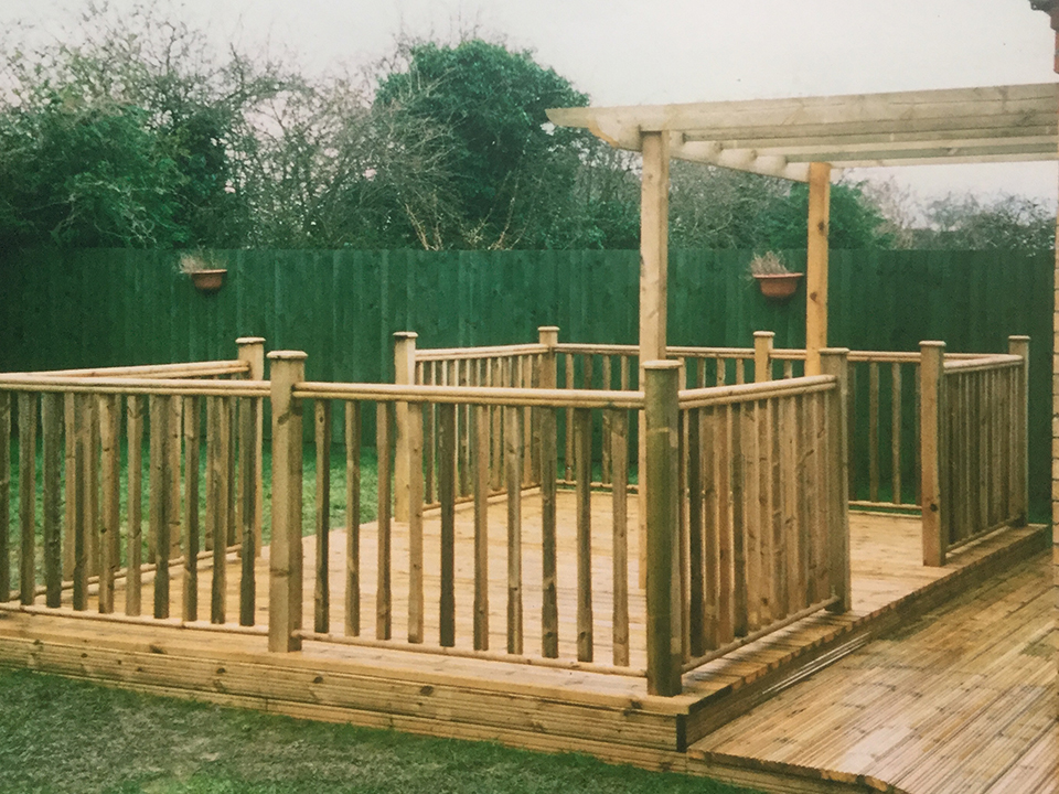 Relaxing Decking Areas